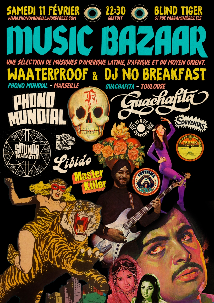 Waaterproof & DJ No Breakfast à Toulouse - 11 février 2017